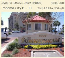 Summerhouse Condo for Sale Panama City Beach