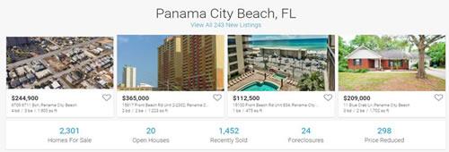 Panama City Beach Homes for Sale